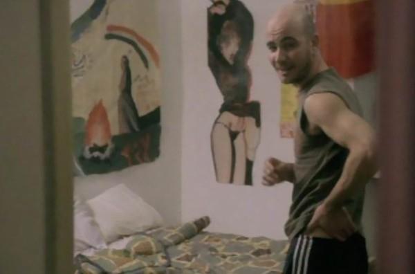 Matteo Mussoni in una scena de La spettatrice