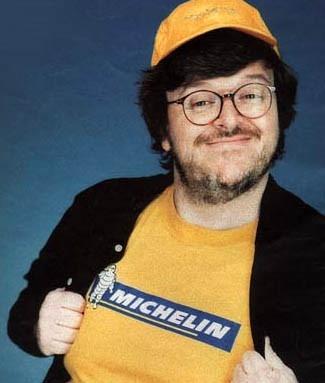 il documentarista Michael Moore