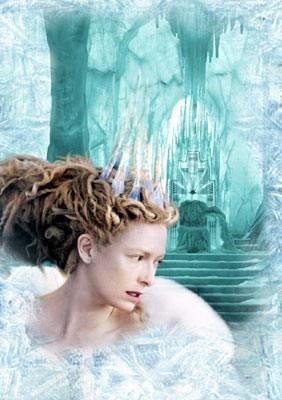 Tilda Swinton in una scena di The Chronicles of Narnia: The Lion, the Witch and the Wardrobe