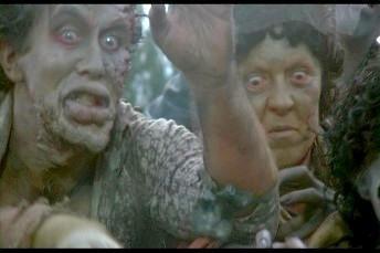 Una scena de Il giorno degli zombi