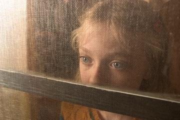Dakota Fanning in una scena de La guerra dei mondi
