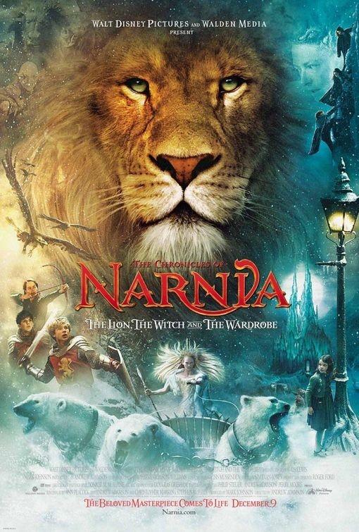 Il manifesto americano de Le cronache di Narnia