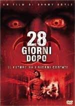 La copertina DVD di 28 giorni dopo