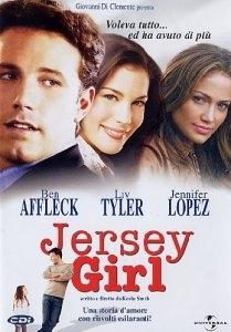 La copertina DVD di Jersey Girl