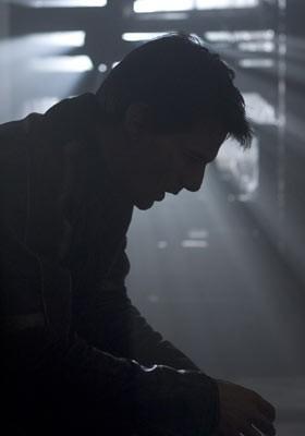 Il celebre profilo di Tom Cruise in una scena de La guerra dei mondi