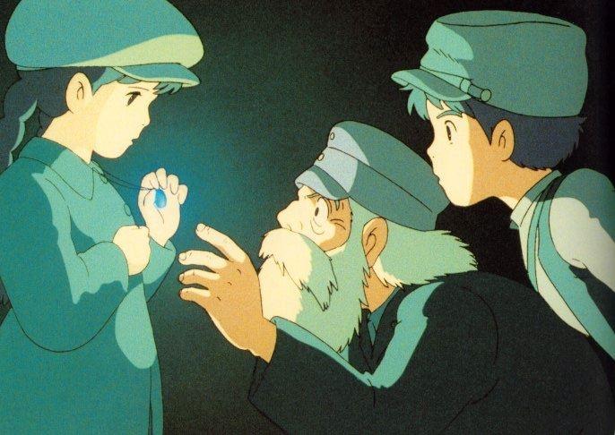 Il castello nel cielo: un'immagine del film
