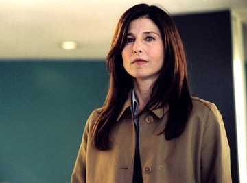 Catherine Keener in una scena di The Interpreter