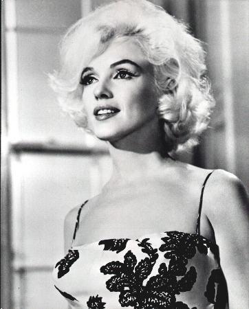 Marilyn Monroe in una foto per la prova del makeup di Something's Got to Give