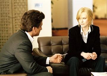 The Interpreter: Nicole Kidman e Sean Penn in una scena del film