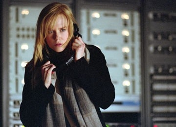 Nicole Kidman in una scena del film The Interpreter