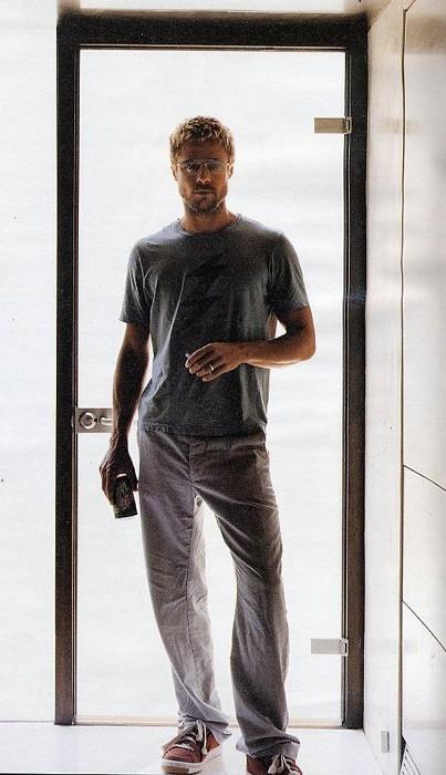 Una magnifica immagine di Brad Pitt