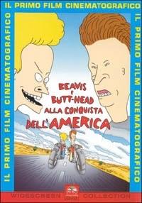 La copertina DVD di Beavis and Butt-Head. Alla conquista dell'America