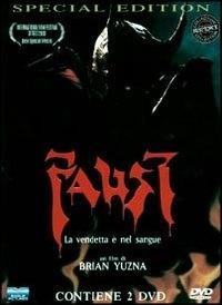 La copertina DVD di Faust