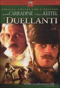 La copertina DVD di I duellanti
