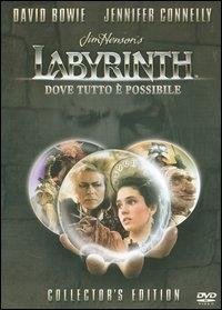 La copertina DVD di Labyrinth - Collector's Edition