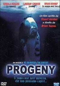 La copertina DVD di Progeny