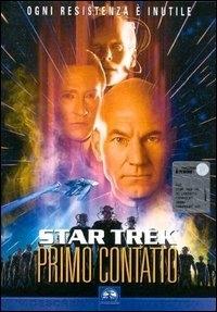 La copertina DVD di Star Trek: Primo Contatto