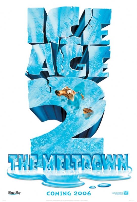 La locandina di Ice Age 2: The Meltdown