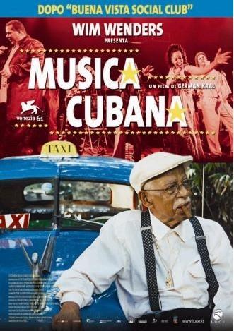 La locandina italiana di Musica Cubana