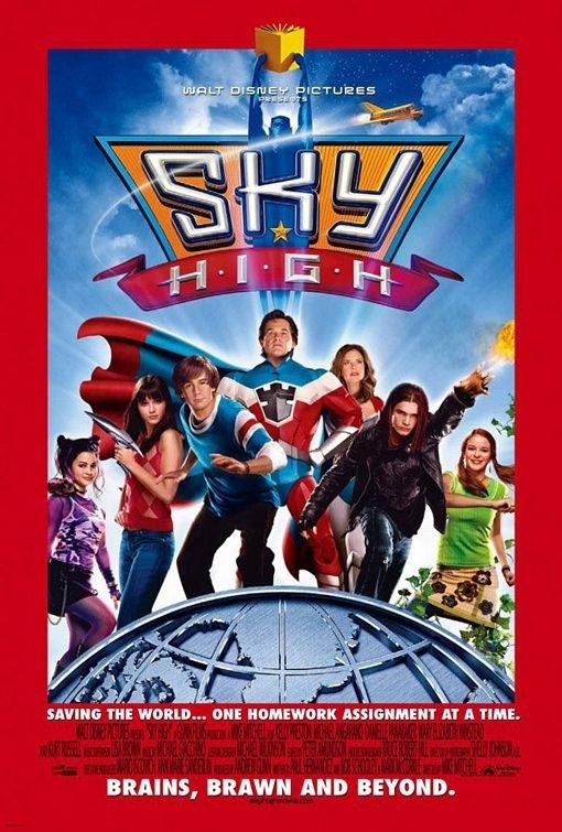 La locandina di Sky High
