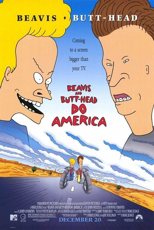La locandina di Beavis and Butt-Head. Alla conquista dell'America
