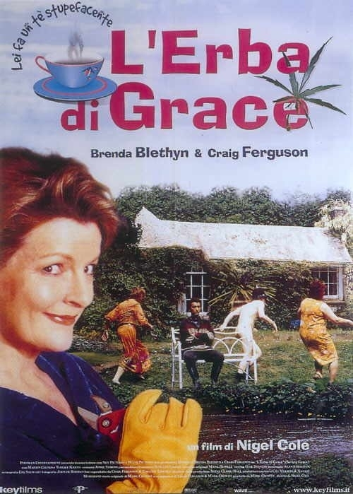 La locandina di L'erba di Grace