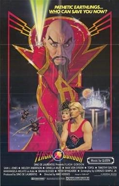 La locandina di Flash Gordon