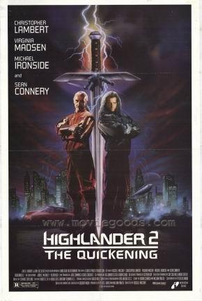 La locandina di Highlander II