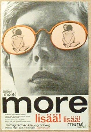 La locandina di More. Di più, ancora di più