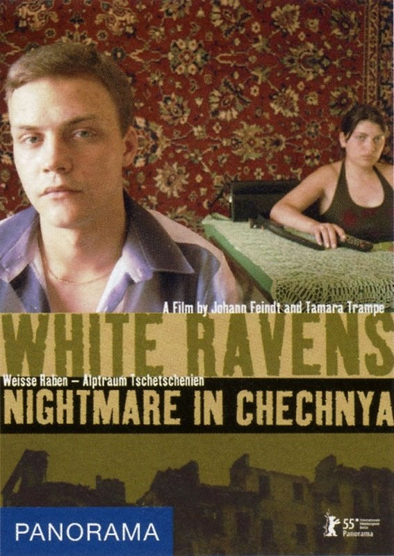 La locandina di White Raven - Nightmare in Chechnya