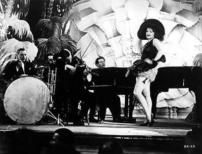 Marlene Dietrich sul set de L'angelo azzurro