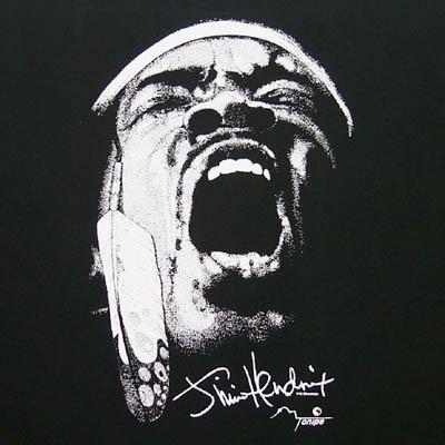 Famosa illustrazione di Jimi Hendrix