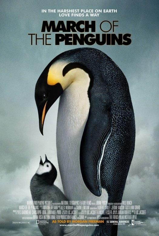 La locandina di March of the Penguins