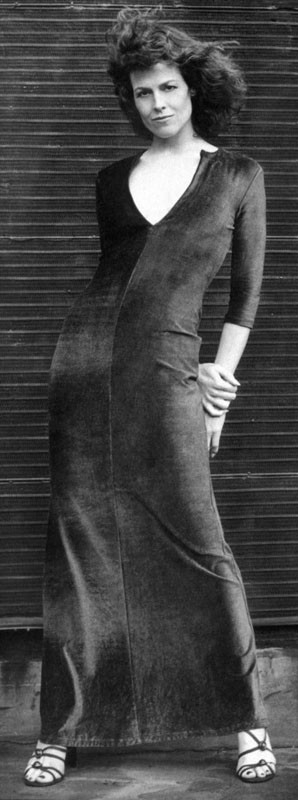 un ritratto di Sigourney Weaver