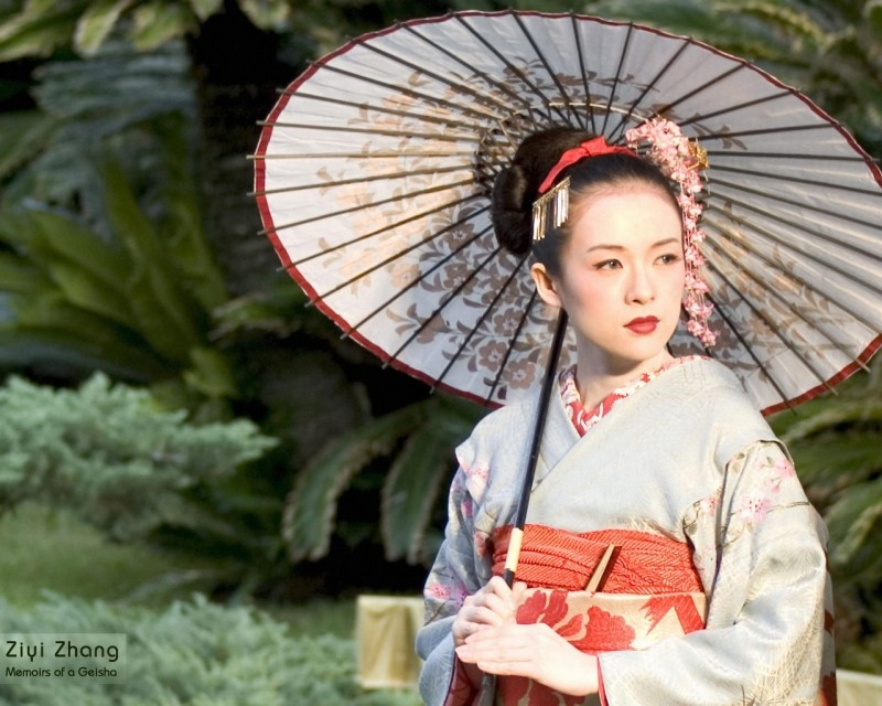 Zhang Ziyi nei panni della geisha Sayuri