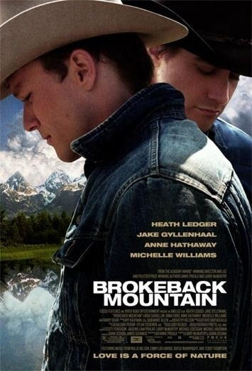 La locandina di Brokeback Mountain
