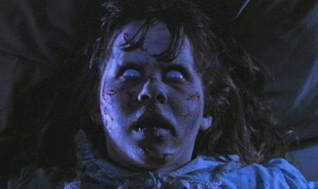 L'inquietante volto di Regan (Linda Blair)