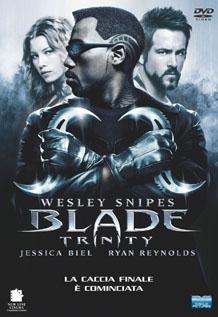 La copertina DVD di Blade Trinity - special edition extended version