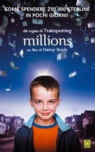 La copertina DVD di Millions