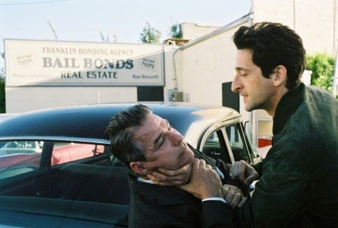 Adrien Brody in una sequenza di Hollywoodland