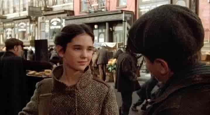 Deborah (Jennifer Connelly) e Noodles (Scott Tyler) in C'ERA UNA VOLTA IN AMERICA