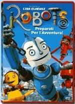 La copertina DVD di Robots
