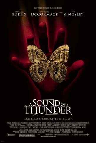 La locandina di A Sound of Thunder