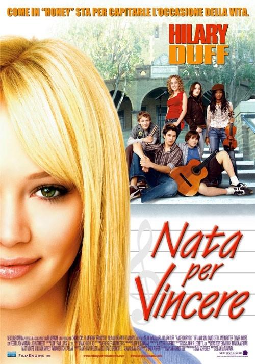 La locandina italiana di Nata per vincere