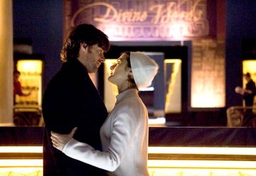 Rachel Weisz e Hugh Jackman in una scena de L'albero della vita