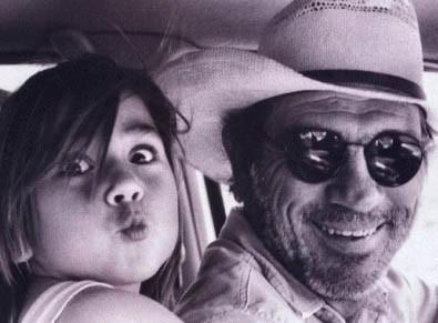Tommy Lee Jones e sua figlia