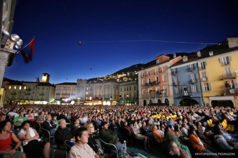 Festival di Locarno 2005: una veduta della piazza grande
