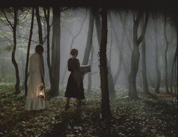 Lou Doillon e Virginie Ledoyen in una scena di Saint Ange