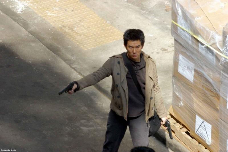 Richie Ren in una scena di Breaking News