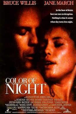 La locandina di Il colore della notte
